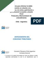 Convenio Eliminacion Doble Tributacion Chile-Argentina
