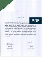 Certificado Calidad Cambio de Iluminacion Luxicon - Ceym 19122015