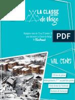 Plaquette Ski ValCenis