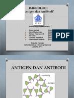 Presentasi Kelompok 2 Imunologi ANTIGEN ANTIBODI