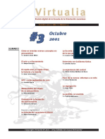 Virtualia 3 Editorial