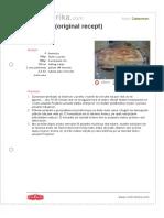 Tiramisu Original Recept