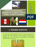 Plan de Exportación Del Derivado de La Caña