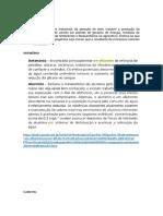Efluentes - Boro - Antimônio e Molibdênio