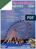 Cartel Ferias de Santiago 2017