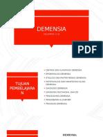 Tutorial 6 demensia