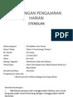 Rancangan Pengajaran Harian Stensilan
