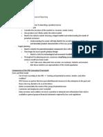 AFM 291 Chapter 2 Notes