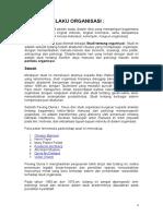Perilaku Organisasi dan Kepuasan Kerja.doc
