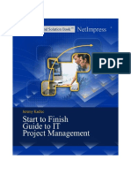 Start to Finish Guide to IT Project Management