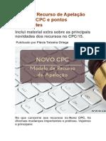 Modelo Apelação Novo Cpc