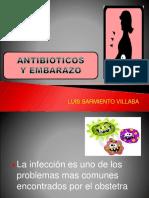 Antibioticos en Embarazo