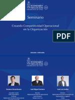 Seminario Creando Competitividad - Final