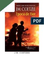 John Coetzee - Epoca de fier #1.0~5.doc