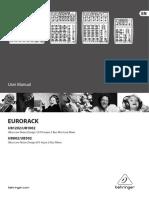 Behringer Eurorack Ub1202 User Manual