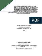 Proyecto de Investigación Mramon Aortiz Hvargas