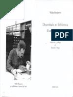 BENJAMIN, Walter, Desembalo mi biblioteca. El-arte de coleccionar.pdf