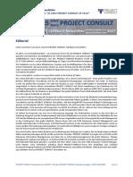 [DE] Project Consult Newsletter 25 Jahre Jubiläum   Dr. Ulrich Kampffmeyer   2017