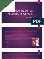 Herramientas de Microsotf Office