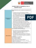 Orientaciones Para El Desarrollo de La Sesion Taller Ficha 7