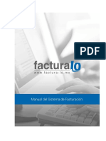 Manual Del Sistema de Facturacion 2.0