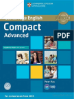 CAE - Compact Advanced Student's Book