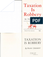 Taxation is Robbery (PDF)