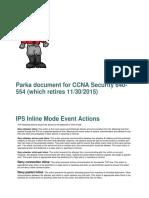 Parka for CCNA Security 640