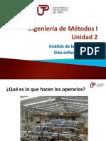 Ingeniería de Métodos I - Semana 5 - Sesión 2-Los 10 Enfoques Primarios