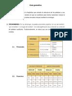 Guia Gramatica Lenguaje y Comunicaión