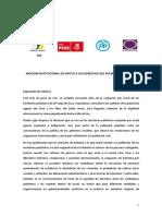 Moción Apoyo Derechos Pueblo de Palestina, Podemos Cabildo Tenerife (Pleno Insular 30.06.17)