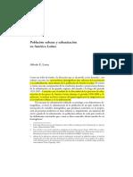 Alfredo Lates, Poblacion Urbana y Urbanizacion