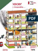 Posters Que Hacer en Caso Incendio