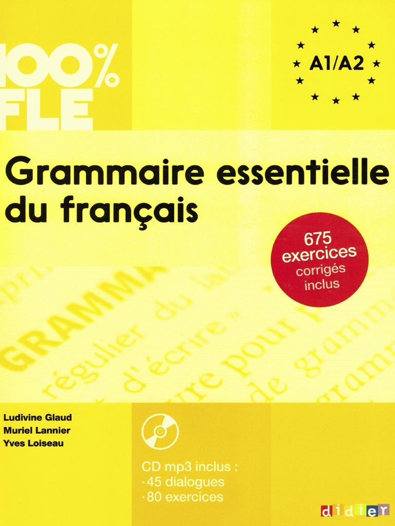 Grammaireessentiellea1 A2pdf