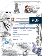 Informe de Laboratorio de Mecanica II