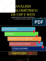 Analisis Cefalometrico de USP y Witts