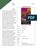 Rich Dad, Poor Dad Summary at WikiSummaries, Free Book Summaries