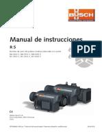 Manual Instrucciones Ra 0630 c Bomba Vacio