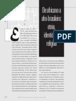 Revista Usp 46-De Africano a Afro Brasileiro - Reginaldo Prandi