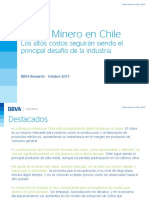 Sector Minero Chile 2015