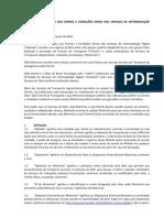 UBER - ADENDO DE MOTORISTA AOS TERMOS E CONDIÇÕES GERAIS DOS SERVIÇOS DE INTERMEDIAÇÃO DIGITAL - 2016.06.01