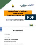 Formation Plastique (Chimie Courte)