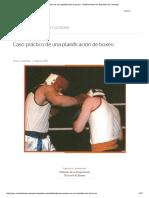 Entrenamiento boxeo