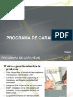 2 Programa de Garantías