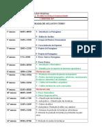 Olericultura, Floriculrtura e Paisagismo - 2017 Cronograma