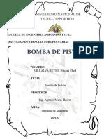 Informe-- Bombas de Piston