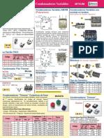 Condensadores Variables Codigos