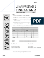 2016-UP1-Mathematics Form 2