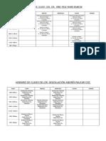 HORARIO DE CLASES 2016-A - DOCENTES.doc