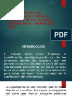 Presentación edafologia calicata